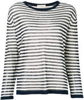 Zanone striped knitted blouse