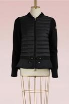 Moncler Wool and duvet jacket