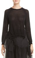 Simone Rocha Women's Long Sleeve Bubble Sweater