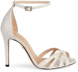 Schutz Kayoko Leather Ankle-Strap Sandals