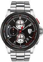 Ferrari Men's 'Formula Italia S' Quartz Stainless Steel Casual Watch (Model: 0830317)