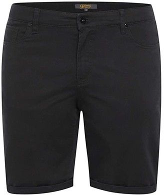 Johnny Bigg Big Tall Marshall Elastic Chino Shorts (Sand) Men's Shorts