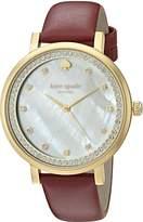 Kate Spade Women's KSW1170 Monterey Analog Display Quartz Watch