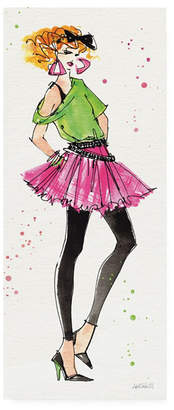 """Anne Tavoletti 80s Fashion I Color Canvas Art - 20"""" x 25"""""""