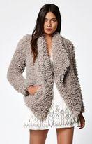 Billabong Do It Fur Love Faux Fur Coat