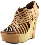 Mojo Moxy Oasis Open Toe Synthetic Wedge Heel.
