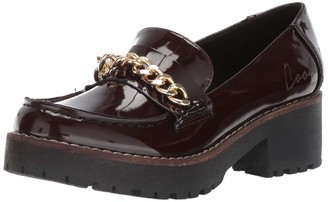 Coolway Women's Cherlof Loafer Burgundy 36 Medium EU (5-5.5 US)