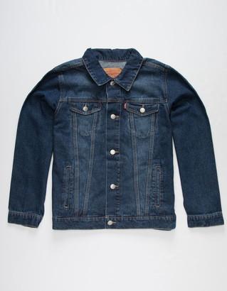 Levi's Denim Trucker Medium Indigo Boys Jacket