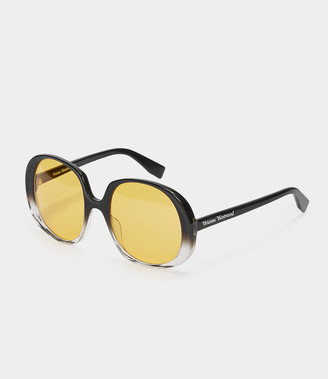 Vivienne Westwood Oversized Sunglasses Black/Orange