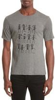 The Kooples Men's Dancing Skeleton Graphic T-Shirt