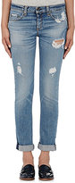 Rag & Bone Women's Atwater Distressed Skinny Jeans-BLUE