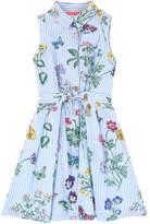 Derhy Kids Stripe print shirt dress