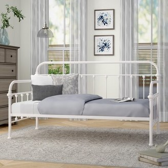 Three Posts Sardinia Twin Daybed Color: White