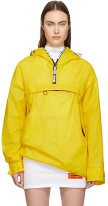 Ienki Ienki Yellow Kangaroo Pocket Anorak Jacket