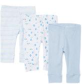 SpaSilk Blue Car Three-Piece Pants Set - Infant