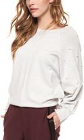 Devoted Women's Pullover Sweaters 60021-LIGHT - Light Grey Heather Pearl Boat Neck Sweater - Women