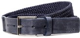 HUGO BOSS Gorian Braid Belt