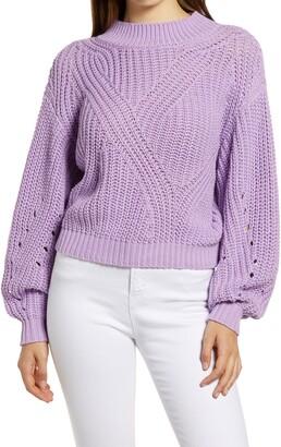 BP Traveling Stitch Sweater