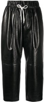 Givenchy straight-leg leather trousers