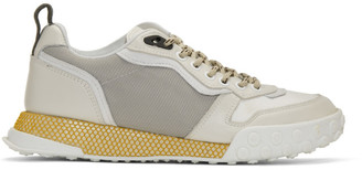 Lanvin Off-White Technical Sneakers