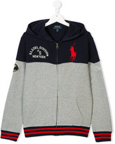 Ralph Lauren embroidered hooded jacket