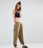 South Beach Khaki Hareem Pants