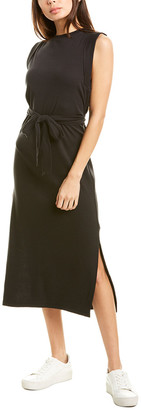 Vince Wrap Waist Midi Dress