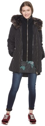 Desigual Women's Padded_maca Coat