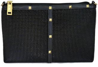 Whiting & Davis Nouveau Studded Crossbody Bag