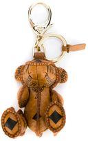 MCM teddy bear keyring
