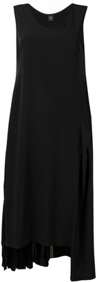 Y's Asymmetric Hem Long Dress