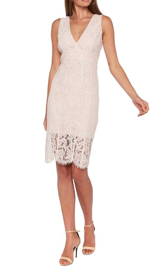 Bardot Lisa Lace Sheath Cocktail Dress