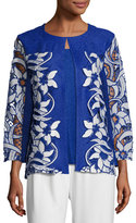 Berek Lazer Affair Crinkle Jacket, Plus Size