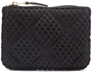 Comme des Garcons Quilted Woven Pouch - Black