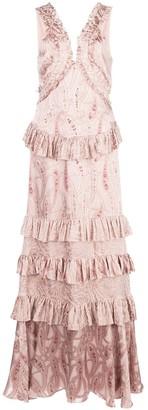 Alexis Rafaela ruffled gown