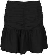 Thumbnail for your product : Ganni Creped Mini Skirt
