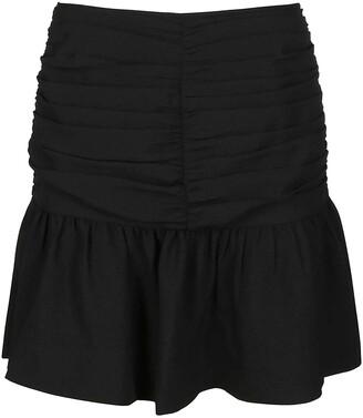 Ganni Creped Mini Skirt