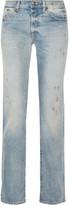 R 13 Classic Distressed Mid-rise Boyfriend Jeans - Light denim