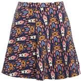Even&Odd Aline skirt dark blue/pink