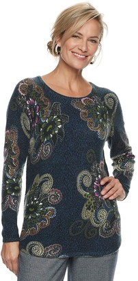 Croft & Barrow Women's Printed Sweater