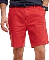 Nautica Men's Big & Tall Flat Front Deck Shorts