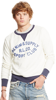 Denim & Supply Ralph Lauren Graphic Sweater, Cream