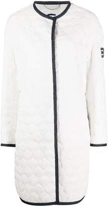 Ermanno Scervino Quilted Open-Front Coat