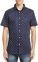 Sovereign Code Garwin Palm Tree Regular Fit Button-Down Shirt