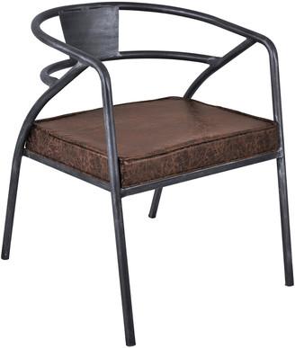 Armen Living Paisley Modern Dining Chair