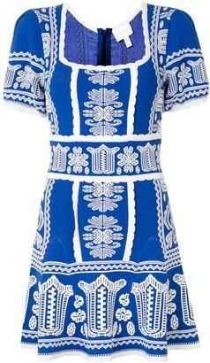 Alice McCall Devotion geometric-pattern mini dress