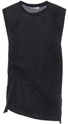 Helmut Lang Ruched Cashmere Top
