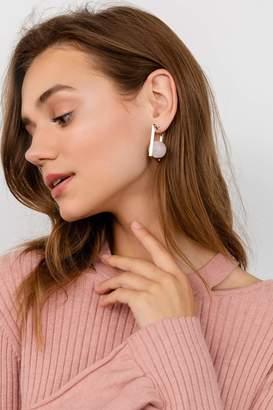 J.ING Rose Quartz Earrings