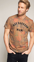 Esprit OUTLET Miami pattern print t-shirt