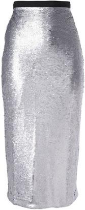 Cinq à Sept Paula Sequined Jersey Midi Skirt